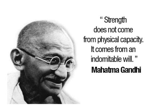 StrengthGandhi